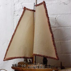 1930s yacht table lamp