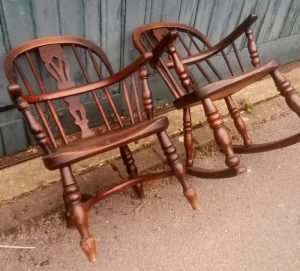 Children's Windsor chairs