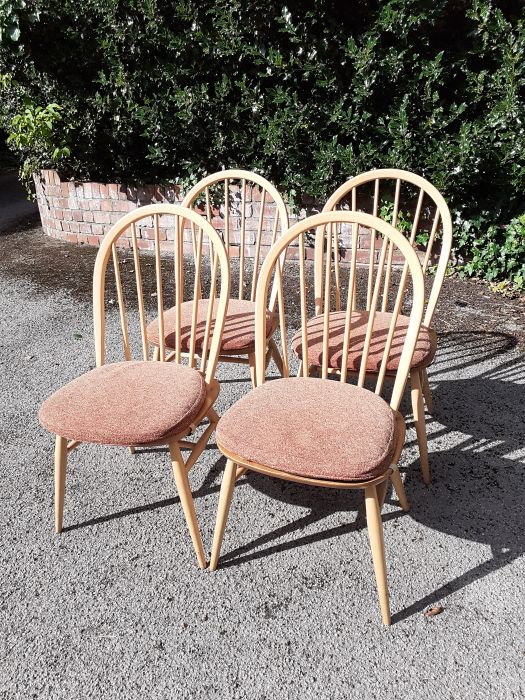 Ercol set of four chairs