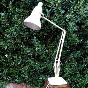 Anglepoise lamp cream
