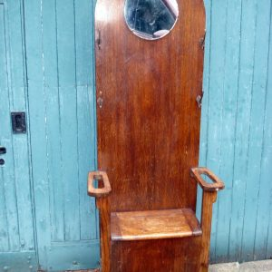 Hallstand with seat