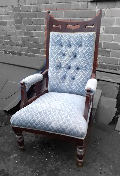 Arts and Crafts Edwardian armchair