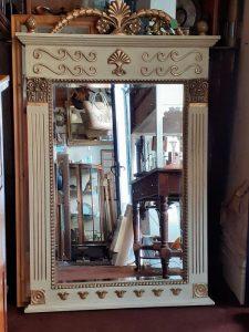 Regency style gilt mirror