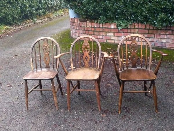 Ercol carver armchairs