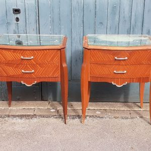 French bedside tables